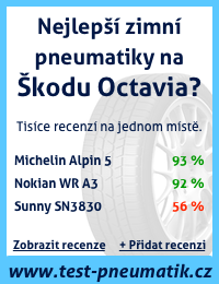 Zimní pneumatiky na Škodu Octavia, test zimních pneumatik