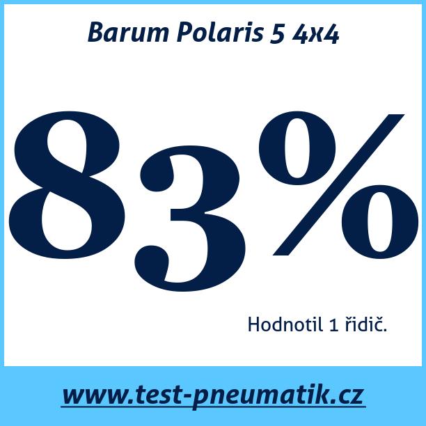 Test pneumatik Barum Polaris 5 4x4