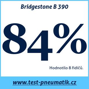 Test pneumatik Bridgestone B 390