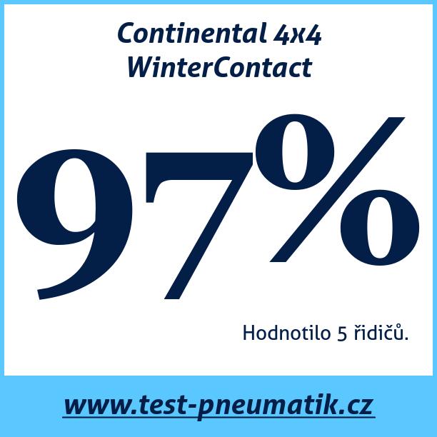 Test pneumatik Continental 4x4 WinterContact