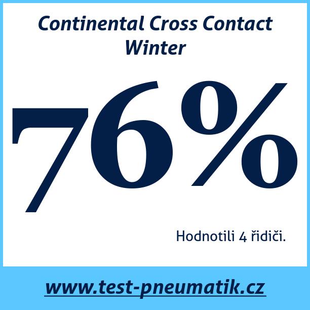Test pneumatik Continental Cross Contact Winter