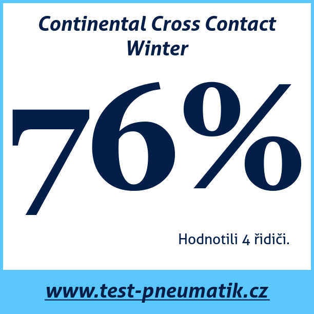 Test pneumatik Continental Cross Contact Winter