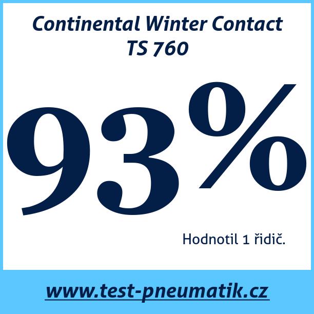 Test pneumatik Continental Winter Contact TS 760