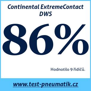 Test pneumatik Continental ExtremeContact DWS