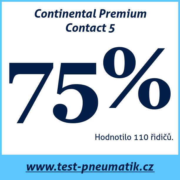 Test pneumatik Continental Premium Contact 5