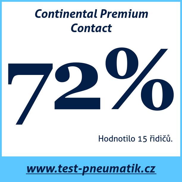 Test pneumatik Continental Premium Contact