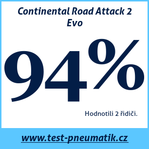 Test pneumatik Continental Road Attack 2 Evo