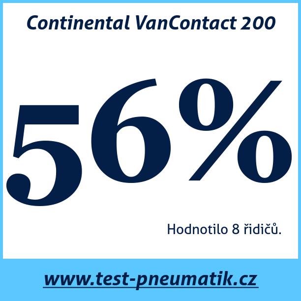 Test pneumatik Continental VanContact 200