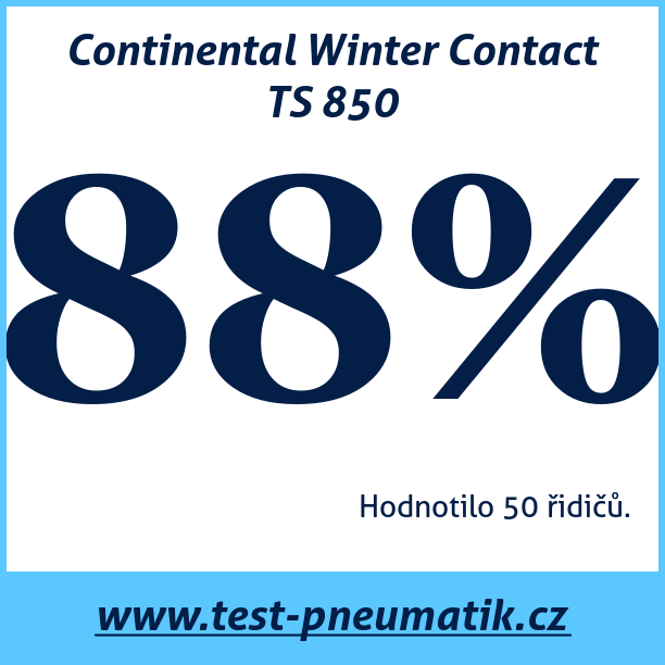 Test pneumatik Continental Winter Contact TS 850