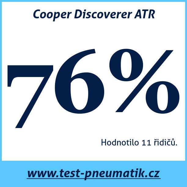 Test pneumatik Cooper Discoverer ATR