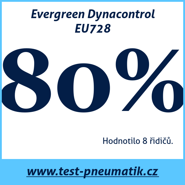 Test pneumatik Evergreen Dynacontrol EU728