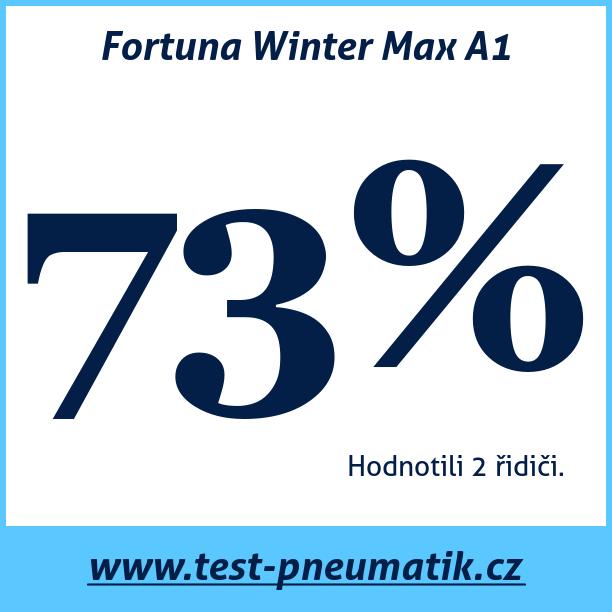 Test pneumatik Fortuna Winter Max A1