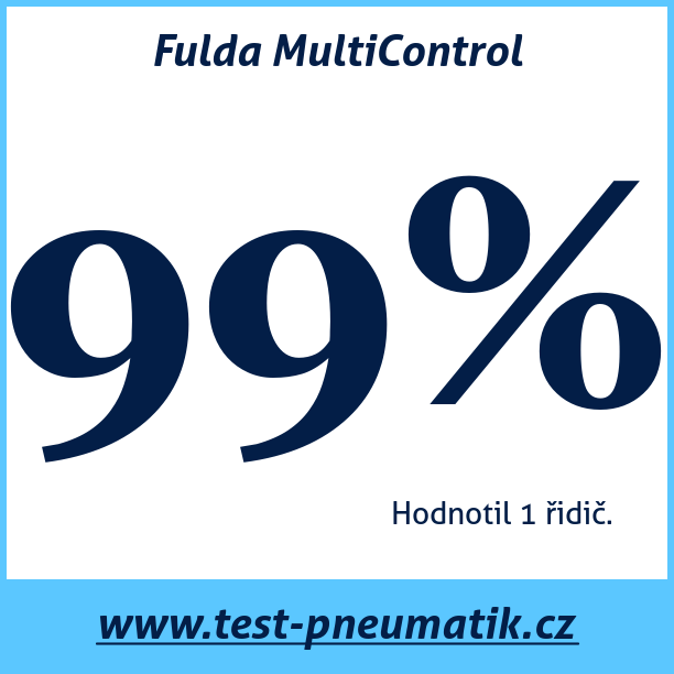 Test pneumatik Fulda MultiControl