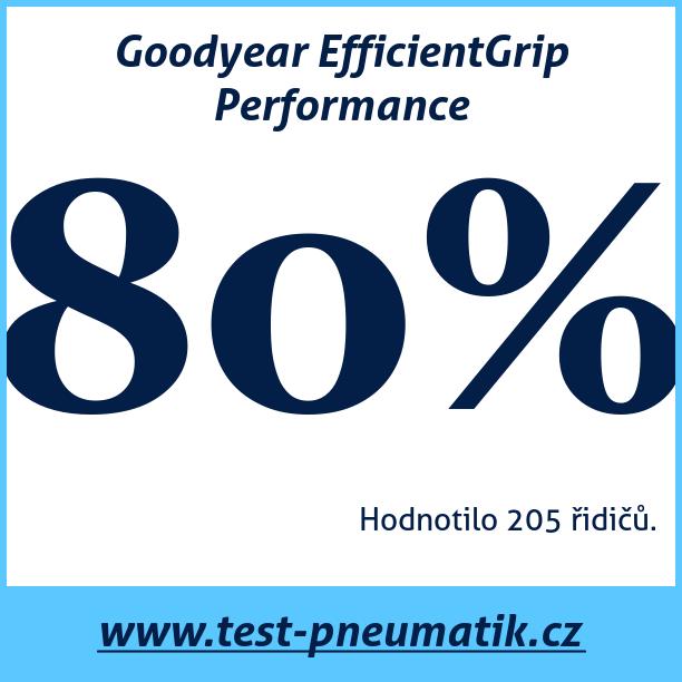 Test pneumatik Goodyear EfficientGrip Performance