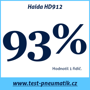 Test pneumatik Haida HD912
