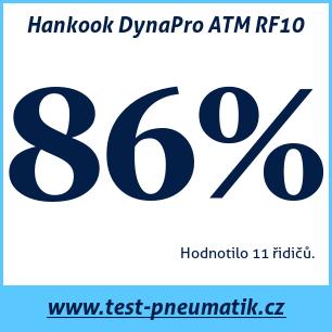 Test pneumatik Hankook DynaPro ATM RF10