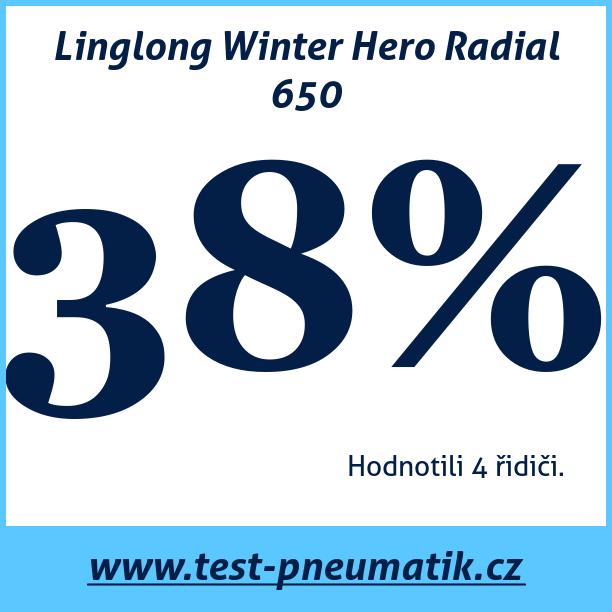Test pneumatik Linglong Winter Hero Radial 650