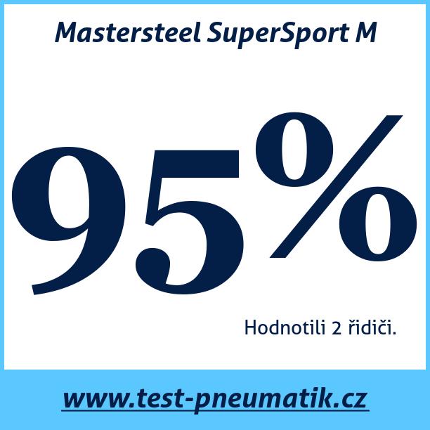 Test pneumatik Mastersteel SuperSport M
