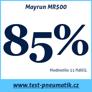 Test pneumatik Mayrun MR500