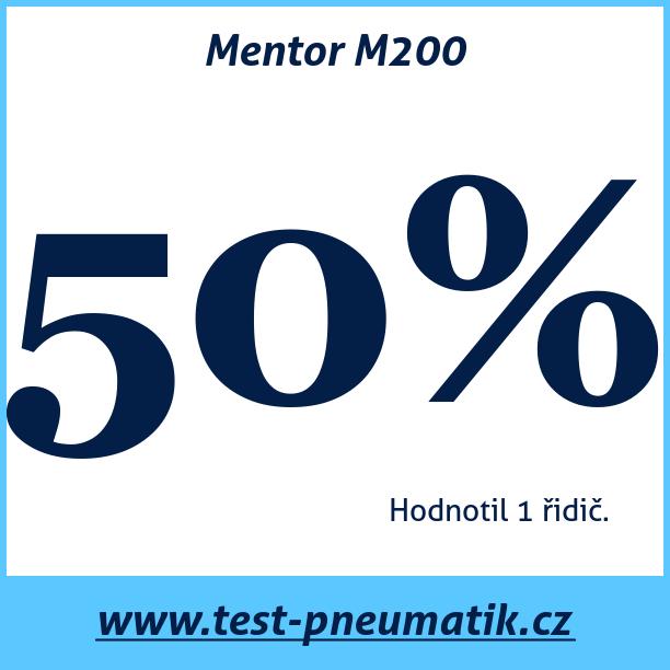 Test pneumatik Mentor M200