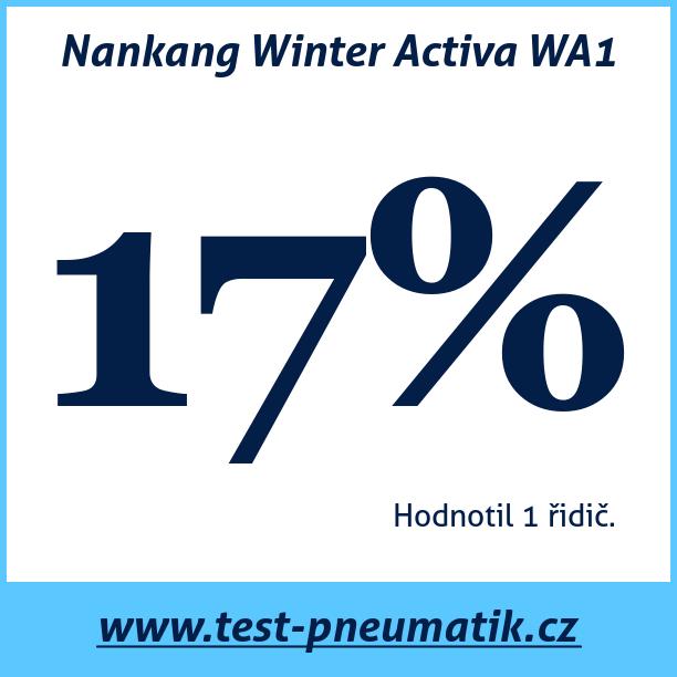 Test pneumatik Nankang Winter Activa WA1