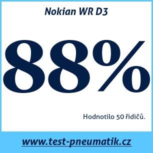 Test pneumatik Nokian WR D3
