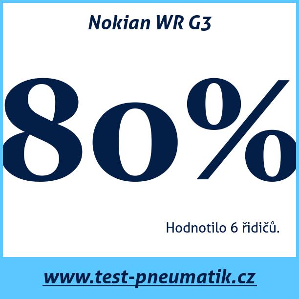 Test pneumatik Nokian WR G3