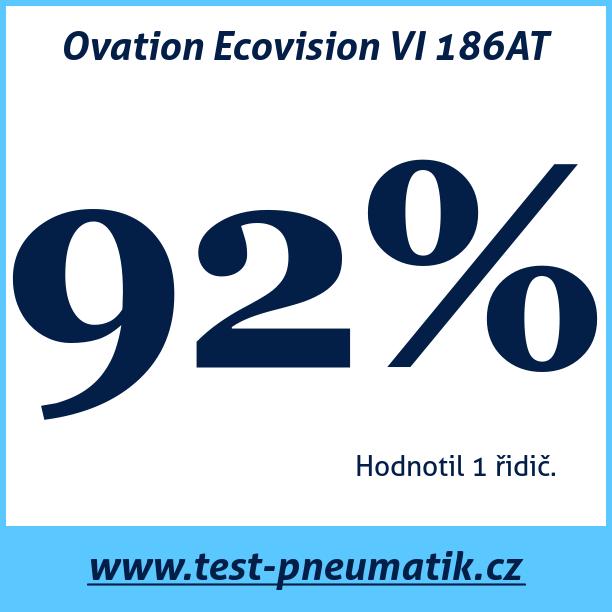 Test pneumatik Ovation Ecovision VI 186AT