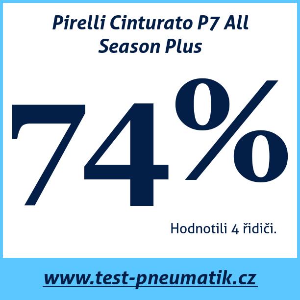 Test pneumatik Pirelli Cinturato P7 All Season Plus