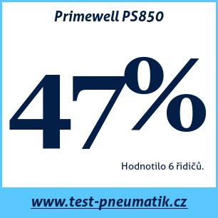Test pneumatik Primewell PS850