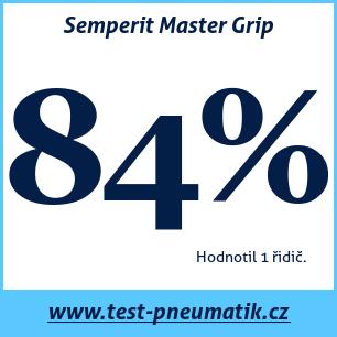 Test pneumatik Semperit Master Grip