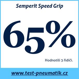 Test pneumatik Semperit Speed Grip