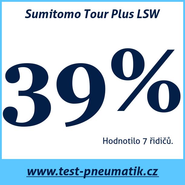 Test pneumatik Sumitomo Tour Plus LSW