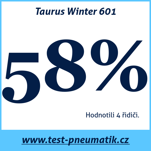 Test pneumatik Taurus Winter 601