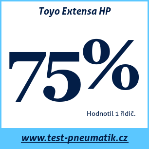 Test pneumatik Toyo Extensa HP