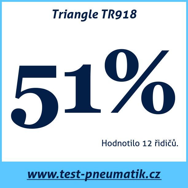 Test pneumatik Triangle TR918
