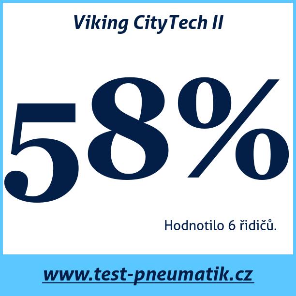 Test pneumatik Viking CityTech II