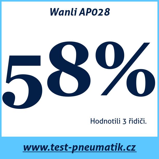 Test pneumatik Wanli AP028