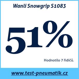 Test pneumatik Wanli Snowgrip S1083
