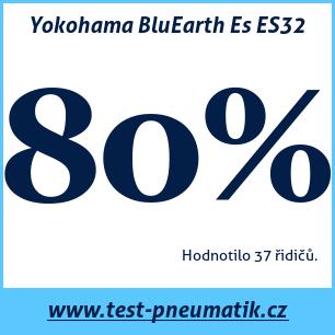 Test pneumatik Yokohama BluEarth Es ES32