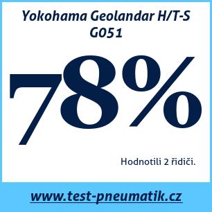 Test pneumatik Yokohama Geolandar H/T-S G051