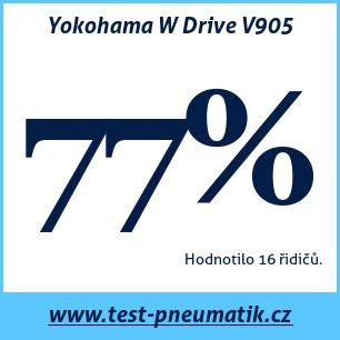 Test pneumatik Yokohama W Drive V905