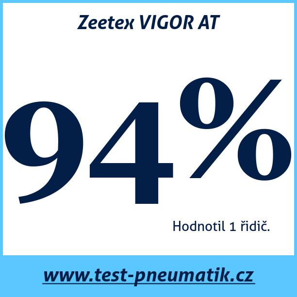 Test pneumatik Zeetex VIGOR AT