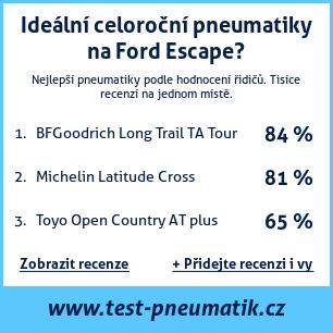 Test pneumatik na Ford Escape