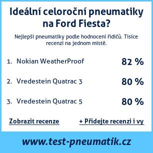 Test pneumatik na Ford Fiesta