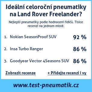 Test pneumatik na Land Rover Freelander