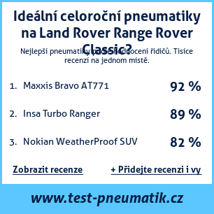 Test pneumatik na Land Rover Range Rover Classic