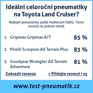 Test pneumatik na Toyota Land Cruiser