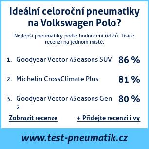 Test pneumatik na Volkswagen Polo