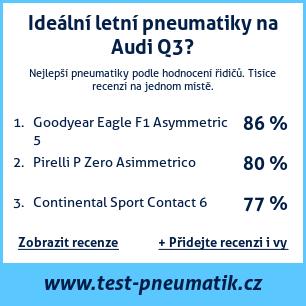 Test pneumatik na Audi Q3